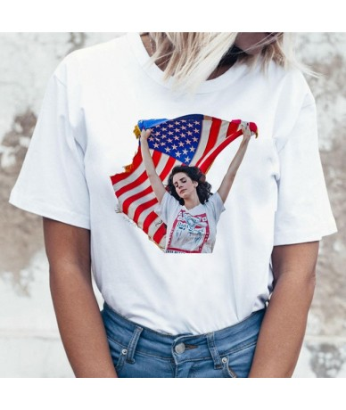 lana del rey korean clothes t shirt women clothing Funny Cartoon Printed T-shirt Harajuku Tshirt Ullzang Top Tee Female - 27...