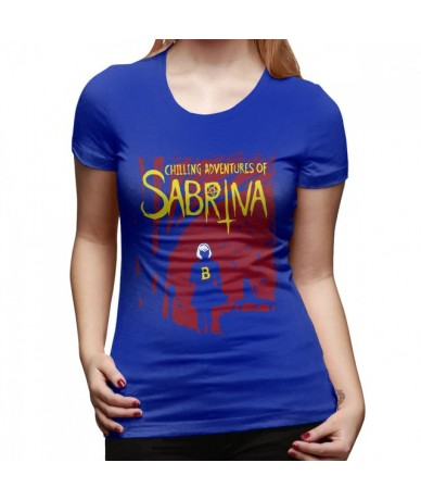 Sabrina T-Shirt Chilling Adventures Of Sabrina T Shirt Large size Trendy Women tshirt Street Fashion Silver Ladies Tee Shirt...