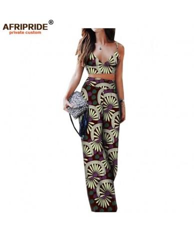 2018 spring&summer sexy pants set for women sleeveless halter short top+full length wide leg pants women set A1826009 - 272X...