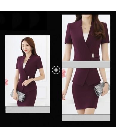 New women suits with skirts elegant female skirt suits bodycon pencil skirt office uniform designs women Business set KK1021...