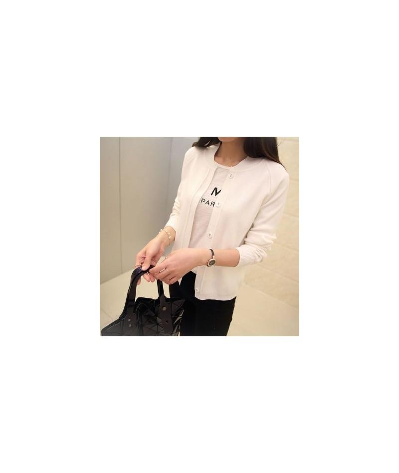 Female cardigan Autumn dress sweater 2019 new spring autumn winter jacket coat primer cardigan - W5 - 4M3913367495-5