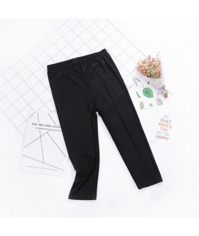 New 2019 Summer Women Leggings Ice silk Plaid Thin Slim Elasticity Pant Legging Casual Solid Women's Plus Size Leggins Cloth...