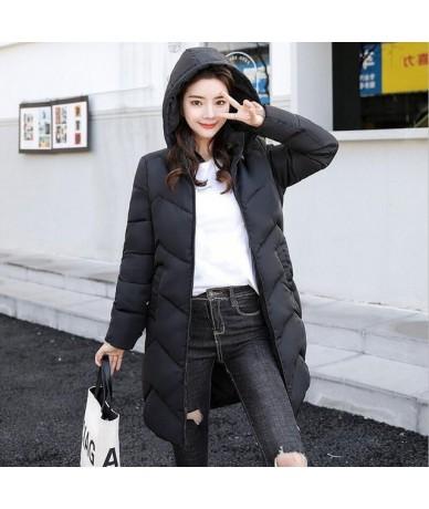 Autumn Winter Female Jacket 2019 Winter Coat Women Warm Parkas New White Outerwear hooded Down jacket Winter Jacket Female C...