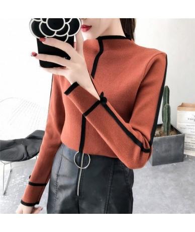 Sweater Female Soft Korean Style Skinny Winter Turtleneck Women Bodycon Basic Pullovers Long Sleeve Pull Femme Coat Female T...