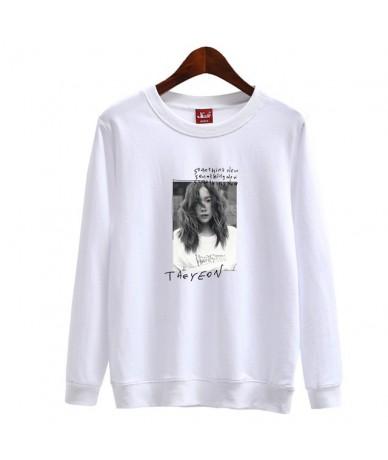 Kpop girl's generation taeyeon album something new cover same printing sweatshirt unisex loose pullover hoodie spring autumn...