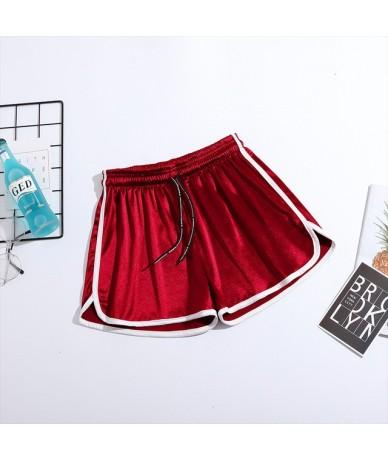 New Arrival 2019 Women Summer Shorts Size Plus S-5XL Elastic High Waist Casual Loose Wide Leg Sports Short Pants Feminino - ...