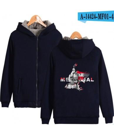 Memorial Day 2D Print Plus Thick Hoodies Sweatshirt Supper Warm Coat Winter Zipper Harajuku Jacket Unisex Streetwear Oversiz...