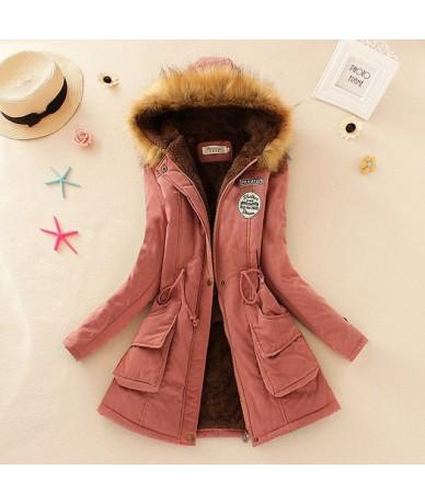 Winter Jacket Women Faux Fur Collar Womens Coats Long Down Parka Lady Hoodies Parkas Warmer Classical Jackets Size S-XXXL - ...