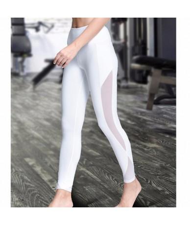 Female Breathable Push Up Leggings High Waist Mesh Sexy Women Leggings Fitness Women Quick Dry Plus Size Casual Leggins - wh...