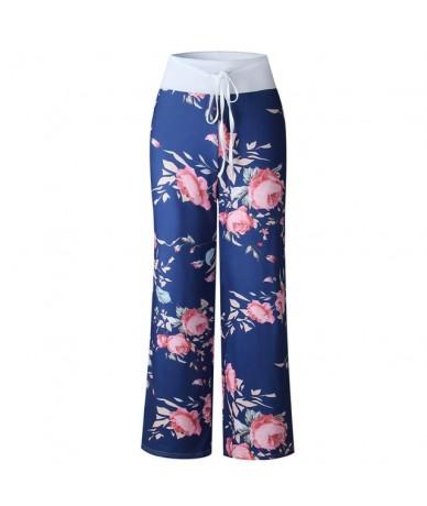 Woman Pants 2019 Women Casual Summer Loose Trousers Baggy Boho Aladdin Harem Pants Elastic Waist Vintage Soft Female Trouser...