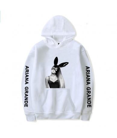Kpop White Girl Hoodie Spring New Ariana Grande Sweatshirt Famous Singer Dangerous Woman Tour Hip Hop Hoody Women Clothes Ca...