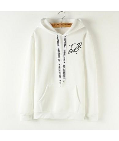 2019 Brand Female Hoodies Women Long Sleeve Hooded Sweatshirt Universe Print Tracksuit Sweat Coat Autumn Casual Sportswear -...