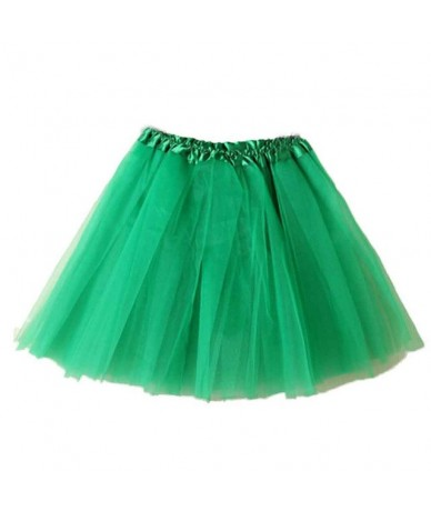 Fashion Skirts Womens Available Summer Tulle Skirt Ladies Girls Adult Tutu Dancing Mini Skirt Elastic jupe femme falda - Gre...