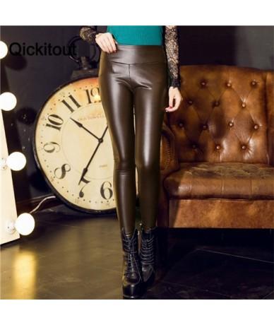 women leggings faux leather high quality slim leggings plus size High elasticity sexy pants leggins s-xl leather boots leggi...