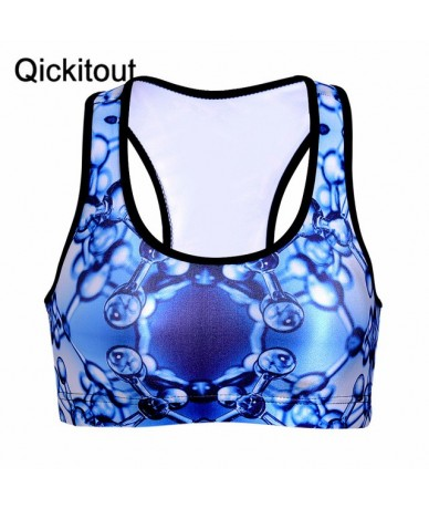 Hot New Women Padded Top Vest Fitness New Bra Stretch Wholesales - 5 - 4O3633432029-3