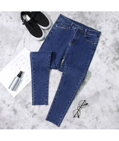2019 Spring Slim Tight Women Jeans 3 Color Can Choose Female Trousers Pants - picture - 4Z4138066021-2