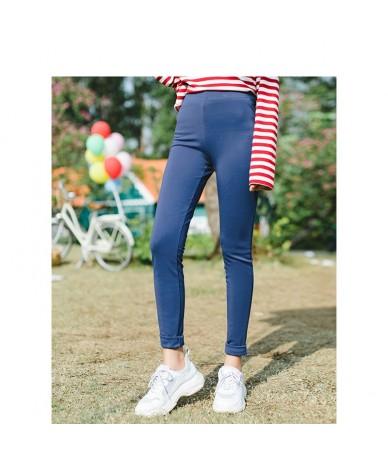 Winter New Arrival Female Solid Color High Waist Slim Leggings Long Pants - Silver - 493043107291-3