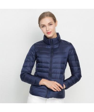 Women Winter Coat 2018 New Ultra Light White Duck Down Jacket Slim Women Winter Puffer Jacket Portable Windproof Down Coat -...