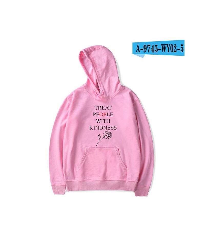 Harry Styles Treat People With Kindness Print Hoodies Women/Men Fashion Streetwear Hooded Sweatshirt Casual Hoodies - pink -...