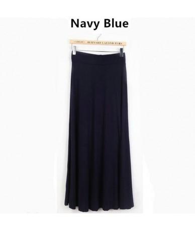 2019 Autumn Winter Women Skirt Bodycon High Wais Maxi SkirtGirls Thick Fabric Warm Long Skirtsplus size S- 5XL 6XL vestidos ...