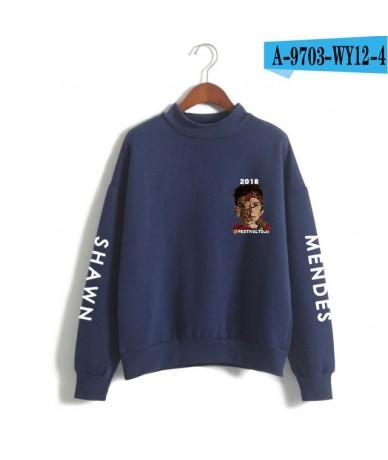Black Pop Wild Shawn Harajuku Print Streetwear Hoodie Fashion Oversized Cozy Men Women Sweatshirt Team Clothes Pullover Cott...