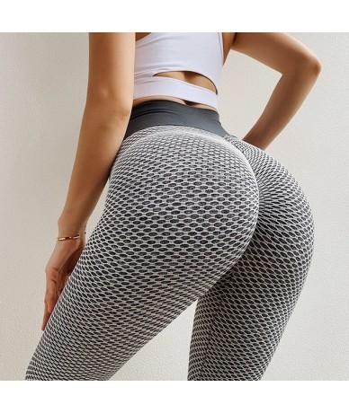 Women High Waist Leggings Fitness For Legging Femninia Leggings Mujer High Stretch Sportswear Ladies Polyester Pants - Dark ...