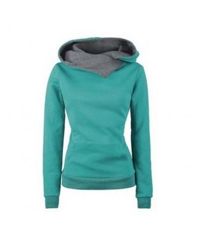 Women Hoodies Plus Size Gothic Long Sleeve Top Casual Black Hooded Sweatshirt Pocket Autumn Winter Thin Simple Fashion Track...