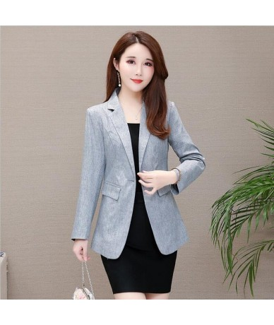 Blazer Women Clothing New 2019 Blazers Women Suits Short Slim Spring And Autumn Coat Suit Female Outerwear Black Red OAIRED ...