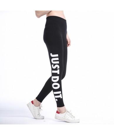 Women Leggings Fitness Work Out Leggins 2019 Summer Gold High Waist Elastic Pants Compression Women Legging Trousers - White...
