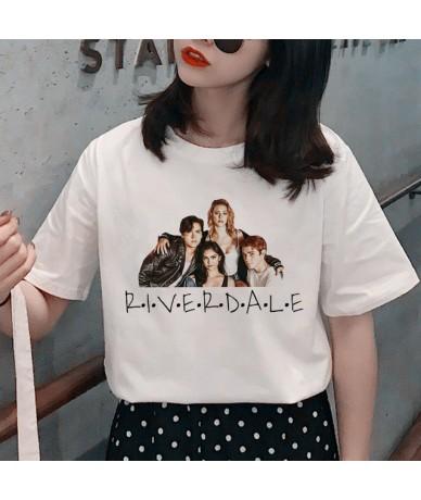 Riverdale Harajuku Snake Print T Shirt Women Southside Serpent Ullzang Cartoon T-shirt 90s Graphic Tshirt Fashion Top Tee Fe...