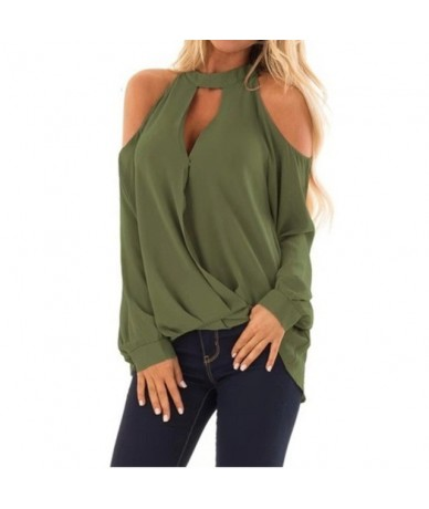 Autumn Tops For Women 2019 Casual O-Neck Beige Blouse Women Top And Blouses Blusa Feminina Long Sleeve Solid Blouse Shirt - ...