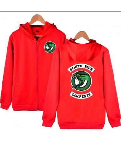 Southside Riverdale Serpents Jackets Hoodies Women Zipper Sweatshirt Cotton Pocket Girl Fans Streetwear Drop Shipping - 20 -...