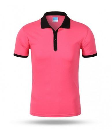 Good quality plus-size S-XXXL 2018 summer style new leisure women ladies and men Contrast color shirts AU0050 - 9 - 4S383642...