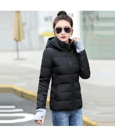 New Parka Women's Winter Down Jacket Casual Hooded Female Jacket Winter Warm Thick Padded Plus Size S-5XL Women's Winter Coa...