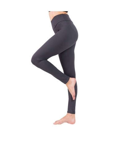 2019 women plus size high waist leggings for fitness soft slim Elastic workout pants new arrivals spring fashion push up leg...
