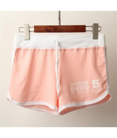 Women's Summer Shorts 2019 New Fashion Quick-drying Casual Loose Large Size Candy-colored Beach Clothing Short Shorts - D015...