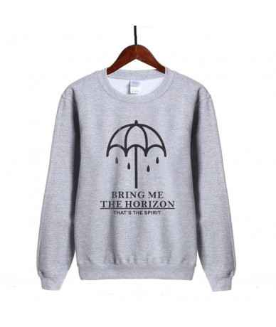BRING ME THE HORIZON Letter Print 2019 Fashion sweatshirt women Brand clothing funny harajuku fleece hoodie hip hop streetwe...