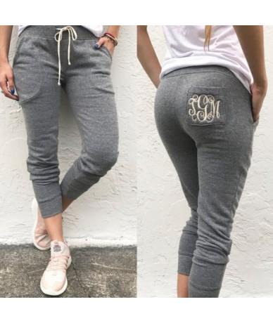 Women Casual Hip Hop Dance Harem Loose Pants Baggy Slacks Trousers Sweatpants - 4S3930561415