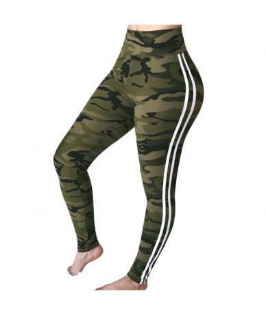 High Waist Pants Trouser Women Drawstring Waist Skinny Pants Ribbed Knit Striped Sideseam Sweatpants Fitness Legging - Green...