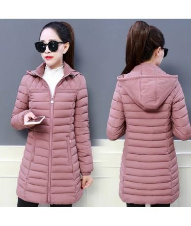 Winter Jacket Women 2019 NEW Fashion Hooded Warm Coat Plus Size 5XL Cotton Padded Jacket Female Long Parka Outerwear AA352 -...