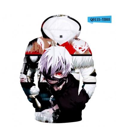 Tokyo Ghoul Hoodies 2018 Fashion Funny Hoodies and Sweatshirt Tokyo Ghoul harajuku Hip Hop Men Women Clothing Custom - Q0115...