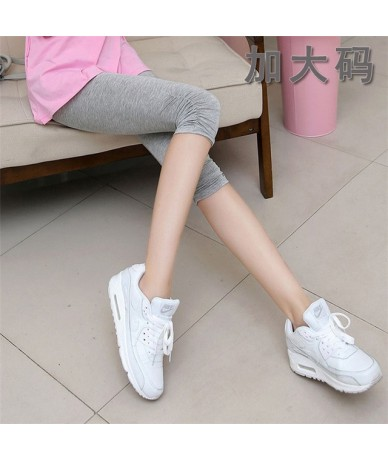 Fashion Summer Legging High Quality Black / White Legging Feet Pants Women Capris Modal Cotton Leggins Deporte Mujer 7AA171 ...