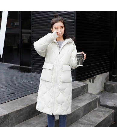 New 2018 Warm Cotton Long Parka Plus Size Winter Jacket Women Coat Thick Cotton Padded Wadded Inverno Casaco Outerwear Xnxee...