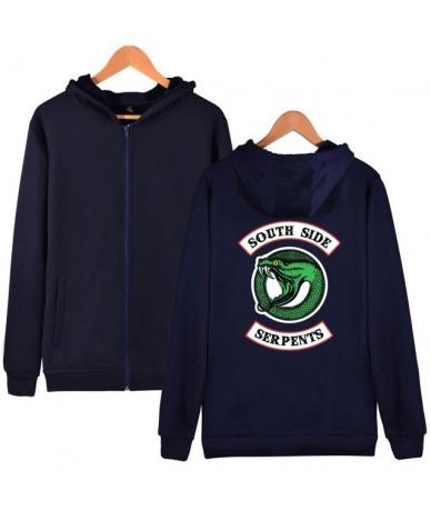 Southside Riverdale Serpents Jackets Hoodies Women Zipper Sweatshirt Cotton Pocket Girl Fans Streetwear Drop Shipping - 3 - ...