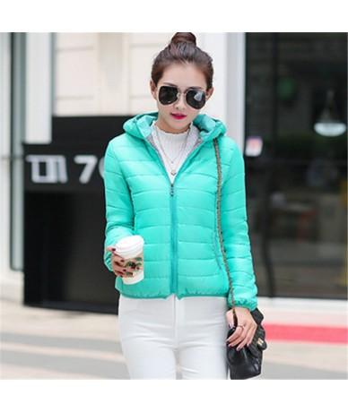 M-3XL New Fashion Chaqueta Mujer Slim Cotton Coat Wadded Jacket Outerwear Women Hood Female Autumn Winter Coat 68006 - 68006...