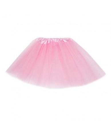 Women Adult Fancy Ballet Dancewear Tutu Pettiskirt Shirt Skirts Dance Fairy Tulle Skirt JL - Pink - 4B3947224466-8