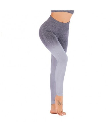 Hip Push Up Sports Gym Fitness Women Workout Slim Compression Sexy Seamless Pants Stretchy High Waist Run Fitness Leggings -...