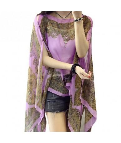 New Chiffon Shirt Sun Protection Clothing Shawl Women Long Thin Blouse Long-sleeved Clothing Vacation Tourism Sunscreen Shir...