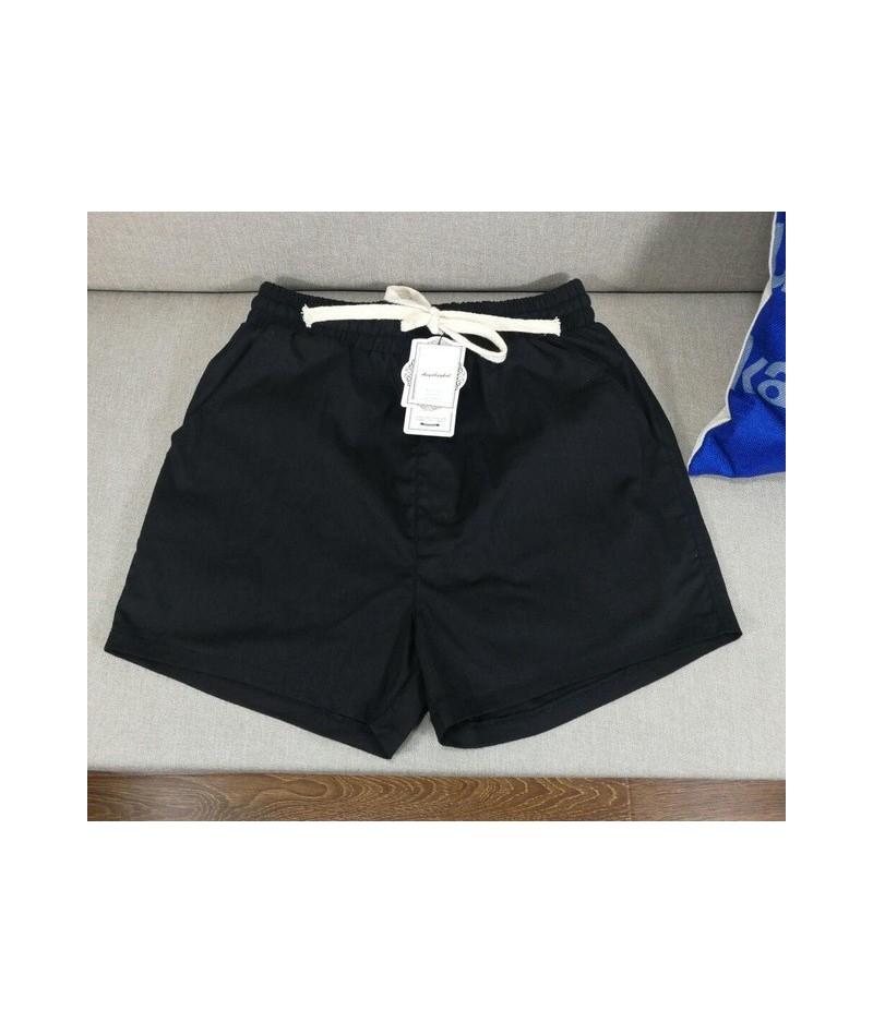 2019 Summer women cotton linen Shortswide leg shortPlus size hight waits skirt shortsflare trousersBig size shorts M-6XL 7XL...