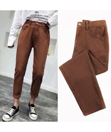 2019 Casual Jeans Woman High Waist Boyfriend Jeans ladies Plus Size Pink Black Denim Mom Jeans Pants Trousers jeans femme - ...